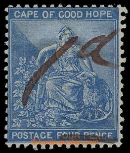 208312 - 1874 MYS DOBRÉ NADĚJE  GRIQUALAND WEST / SG.1, zn. Mysu Dobr