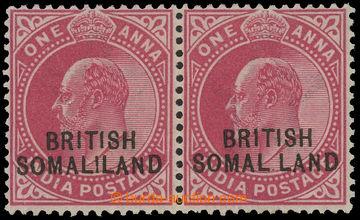 208316 - 1903 SG.26+26d, Edvard VII. 1A červená, vodorovná 2-páska, p