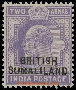 208318 - 1903 SG.27c, Edward VII. 2A violet, printing error SUMALILAN