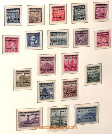 208377 - 1939-1945 [SBÍRKY] GENERÁLNÍ / pěkná sbírka na listech Leuch