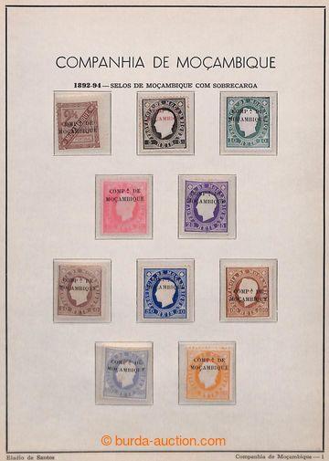 208386 - 1892-1935 [SBÍRKY]  značně kompletní sbírka na 21 starých li