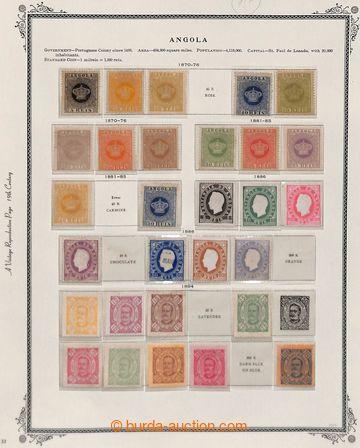 208397 - 1870-1925 [SBÍRKY]  zajímavá dobře obsazená sbírka na 12 lis