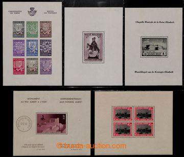 208417 - 1932-1942 ARŠÍKY / Mi.Bl.4-8, 9A, 9B, 14, 16, navíc aršík z
