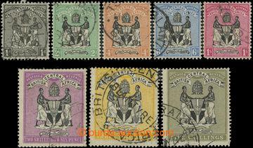 208511 - 1895 SG.21-28, Znak (oblíbené Johnstonovy litografie tištěné