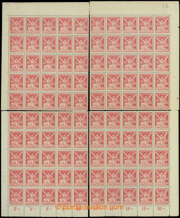 208556 -  Pof.151A, 20h červená, rekonstrukce TD 1 ze 4 rohových 25-b