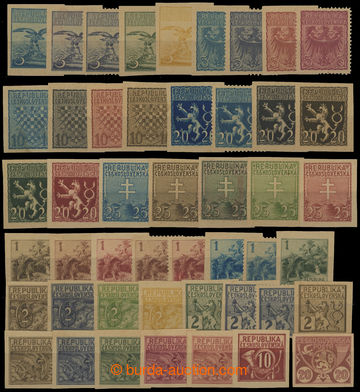 208587 - 1920 ZT  sestava 47ks nepřijatých návrhů, různé náměty jako