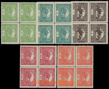208607 -  Pof.1C-9C, hodnoty 1h - 20h, ŘZ 13¾, sestava 5ks různý
