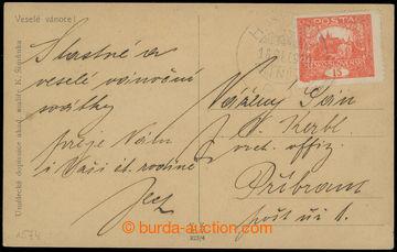 208770 - 1919 HAJASD P.U. / VOLOSIANKA  pohlednice vyfr. zn. Hradčany