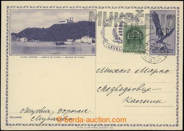 208870 - 1944 MUKAČEVO  lokální vydání přetisk ČSR na maďarské obrazo