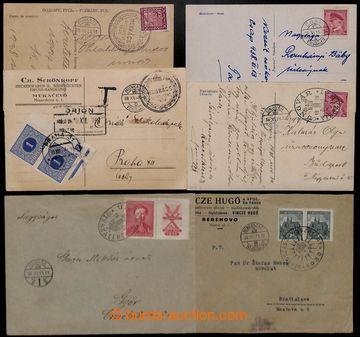 208892 - 1938 MUNKÁCS, UNGVÁR, BEREGSZÁSZ VISSZATÉRT propagandistiská