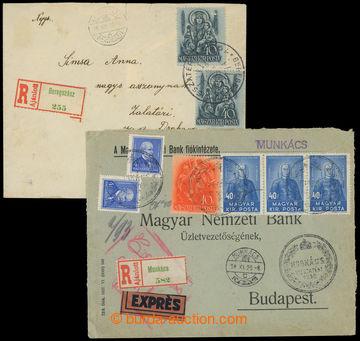 208894 - 1938 MUNKÁCS a BEREGSZÁSZ VISSZATÉRT  propagandistiská raz.