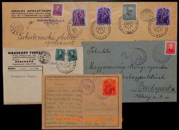 208922 - 1938 MUNKÁCS, UNGVÁR, BEREGSZÁSZ VISSZATÉRT propagandistiská