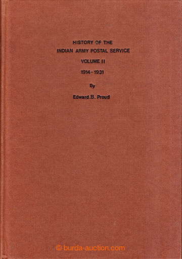 208970 - 1984 INDIE /  THE POSTAL HISTORY OF THE INDIAN ARMY POSTAL S