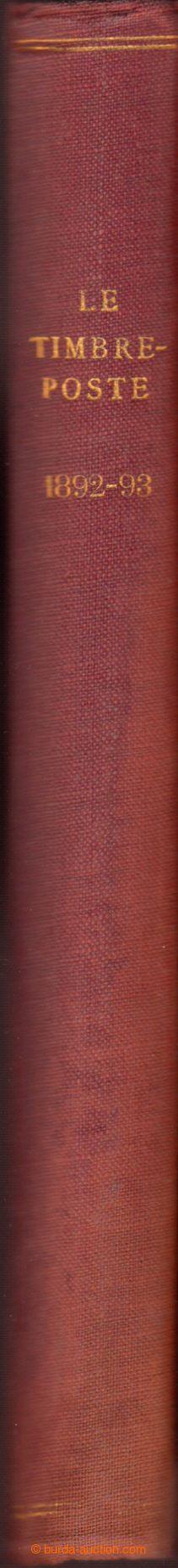 208975 - 1892-1893 BELGIE / FRANCIE /  LE TIMBRE-POSTE + LE TIMBRE FI
