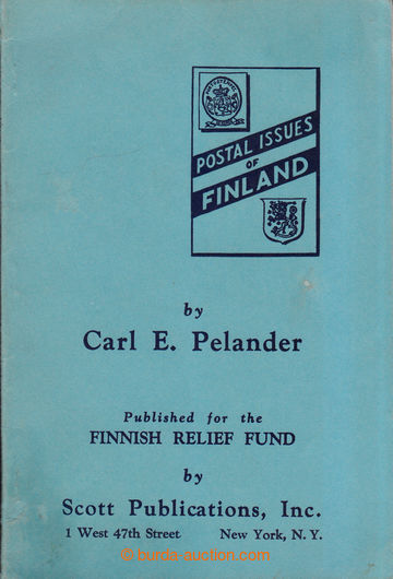 208984 - 1940 FINSKO / THE POSTAL ISSUES OF FINLAND, E. Pelander 1940