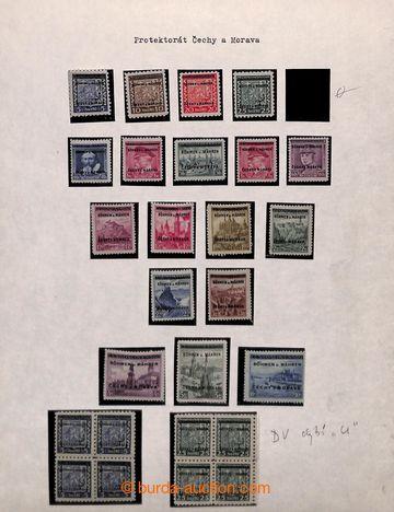 209018 - 1939-1945 [SBÍRKY]  GENERÁLNÍ / základní sbírka s mírnou spe