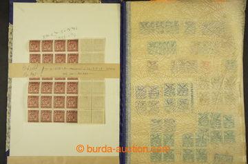 209054 - 1918-1939 [SBÍRKY]   sestava několika menších generálních sb