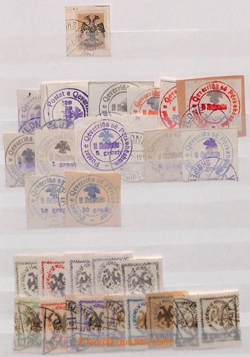 209070 - 1913-1946 [COLLECTIONS]  interesting collection on 12 pages