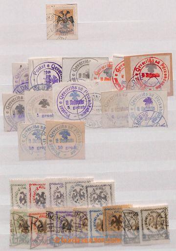 209070 - 1913-1946 [SBÍRKY]  zajímavá sbírka na 12 stranách ze zásobn