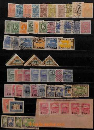 209073 - 1918-1939 [COLLECTIONS]  BALTIC STATES  small collection of