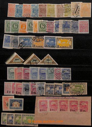209073 - 1918-1939 [SBÍRKY]  POBALTSKÉ STÁTY  menší sbírka zn. Estons