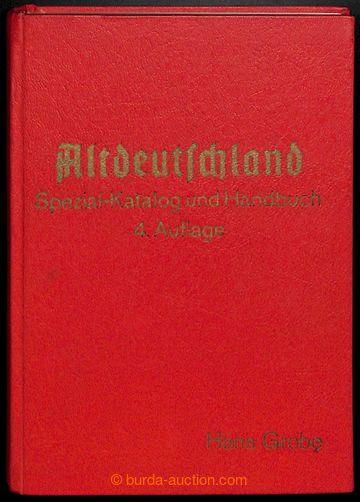 209092 - 1968 NĚMECKO / Altdeutschland Spezial-Katalog und Handbuch,