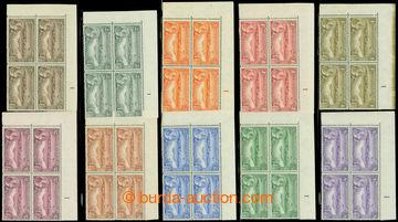 209126 - 1932 SG.84-93, Jiří V. Motivy, kompletní série ½P - 5Sh