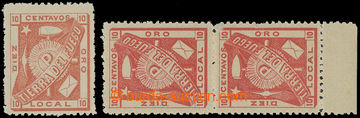 209204 - 1891 OHŇOVÁ ZEMĚ - soukromé vydání J. Poppera pro poštu ze z
