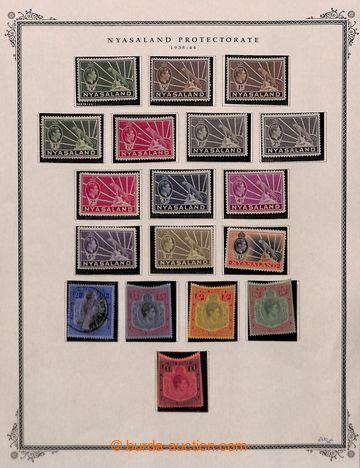 209210 - 1934-1964 [SBÍRKY]  malá sbírka na 6 listech, kompletní séri