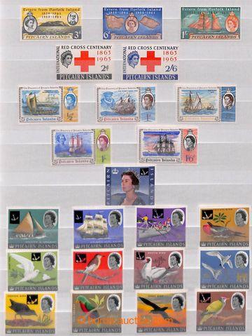 209217 - 1940-1984 [SBÍRKY]  sbírka na 5 listech, od Mi.1, vč. koncov