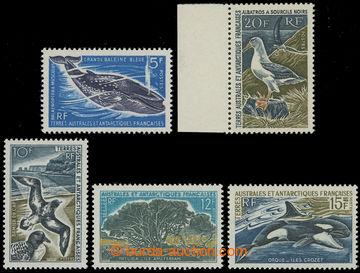 209272 - 1966-1969 sestava 5 hodnot z oblíbené destinace: Mi.36, 41,