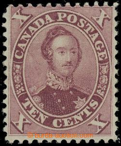 209277 - 1859 Sc.17, Prince Albert 10c red lilac, pěkná sytá barva
