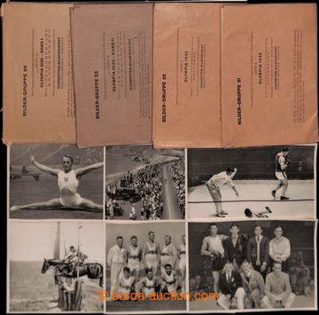 209280 - 1932-1936 [COLLECTIONS]  GERMANY / ZIMNÍ A LETNÍ OLYMPIC GAM