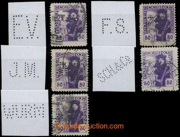 209309 - 1920 sestava 5ks zn. Husita 80h s různými perfiny, mj. Maxa