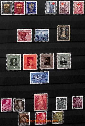 209327 - 1945-1990 [SBÍRKY]  sbírka na 25 listech, obsahuje kompletní