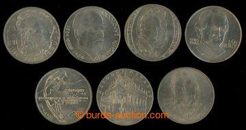 209337 - 1983-1985 sestava  7ks pamětních mincí 100Kčs - Národní diva