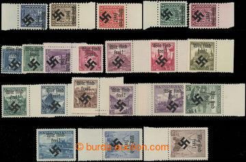 209347 - 1939 MÄHRISCH OSTRAU /  Mi.1-5, 6-19, 30-31, sestava 3 kompl