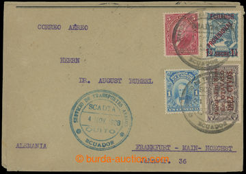 209368 - 1928-1929 2x letter SCADTA with Mi.4I and 5I, additionally f