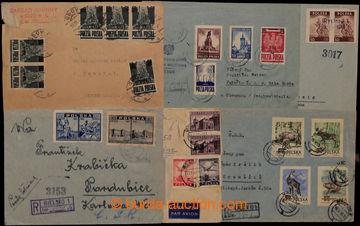 209380 - 1945-1955 sestava 20 dopisů, mnoho R- a Let., většinou do ČS