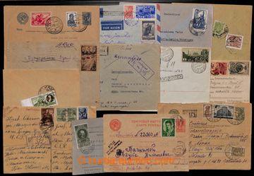 209387 - 1900-cca 1955 [SBÍRKY]  velmi zajímavá partie 70 dopisů a  c