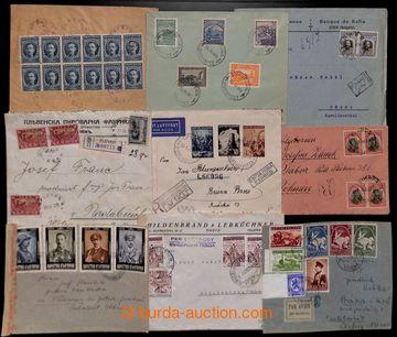 209388 - 1912-1940 SESTAVA / 21 dopisů, vybrané frankatury - vysoké,