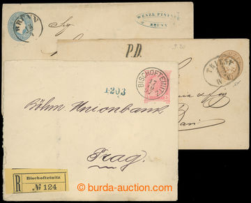 209397 - 1861-1890 COB - 15Kr FJI, 15Kr Orel, 10Kr Orel + 5kr 1984 DR