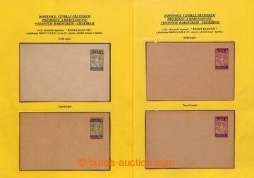 209480 - 1918-1920 [SBÍRKY]  CELINY / část specializované sbírky celi