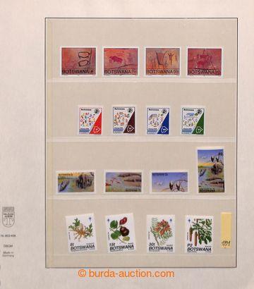 209512 - 1991-2000 [SBÍRKY]  kompletní sbírka na listech Lindner, vče