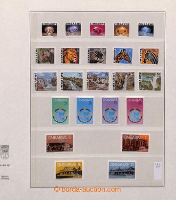 209513 - 1980-1990 [SBÍRKY]  kompletní sbírka na listech Lindner, vče