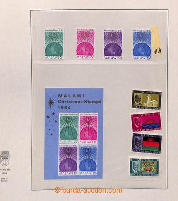 209514 - 1964- 1975 [SBÍRKY]  kompletní sbírka na listech Lindner, vč