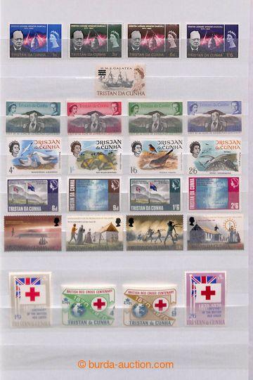 209516 - 1966-1984 [SBÍRKY]  sbírka na 6 listech ze zásobníku, komple