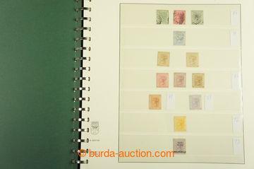 209521 - 1884-1993 [SBÍRKY]  sbírka ve 3 albech Lindner, od 60. let l