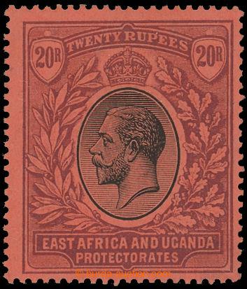 209563 - 1912-1921 SG.60, Jiří V. 20Rp, mimořádně kvalitní exemplář s