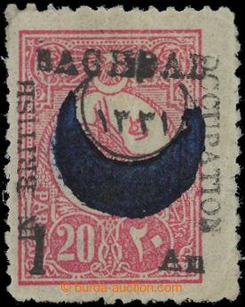 209564 - 1917 BRITSKÁ OKUPACE BAGDÁDU SG.22 - turecká 20Pa s přetiske